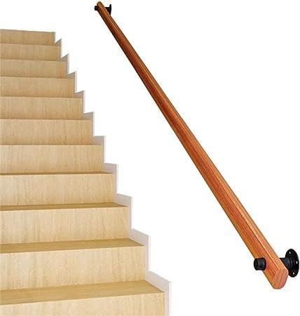 QDY-Pasamanos Barandilla de Escalera Minimalista Moderna - Barandilla de decoración de Madera Maciza - Adecuado para Home Villas Farm House Bars - Disponible en Cualquier tamaño: Amazon.es: Hogar