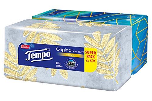 9 opinioni per Fazzoletti Tempo Duo-Box, 2 x 80 salviettine (160 salviettine)