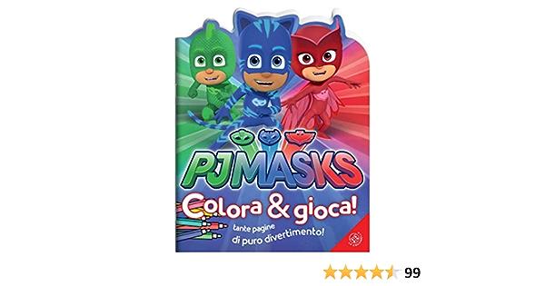 Pj Masks. Colora e gioca! Ediz. a colori : Amazon.es: Libros