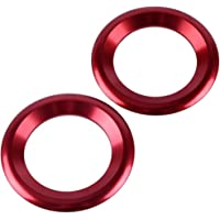 MAVMAX For BMW F30 F34 F10 F20 F25 F26 F48 F07 x1 x3 x5 x6 1//2//3//4//5//6//7 Series Car Multimedia Button Cover Knob Frame Decoration Trim styleB red