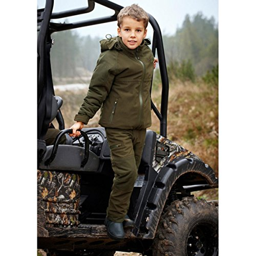 Seeland Eton Kids jacket Pine green UK 3 / US 4 Green by Seeland