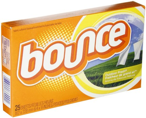 (Bounce 36000 Outdoor Fresh Fabric Softener Dryer Sheet (Case of 15 Boxes, 25 Sheets per Box))
