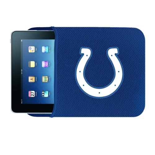 Team ProMark NFL Indianapolis Colts Netbook/IPad Sleeve, Blue, One Size