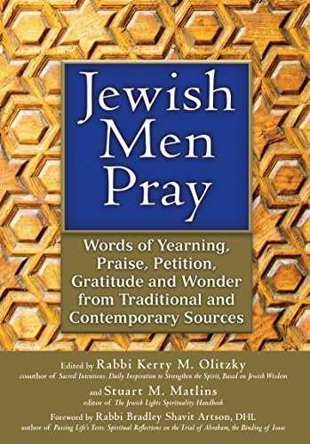 Jewish Men Pray: Words of Yearning, Praise, Petition, Gratitude and Wonder from Traditional and Contemporary Sources