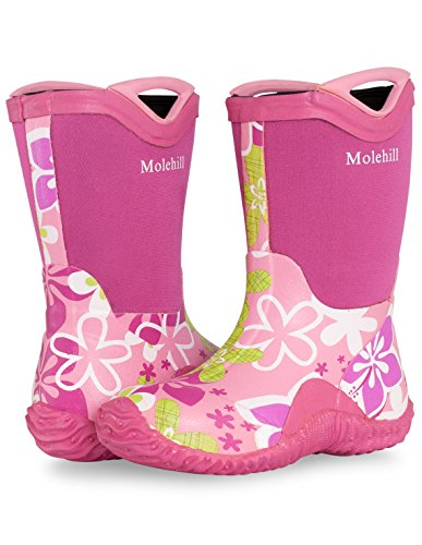 [Molehill Girls Rain Boot, Rosita, 12 M US Little Kid] (Next Kids Boots)