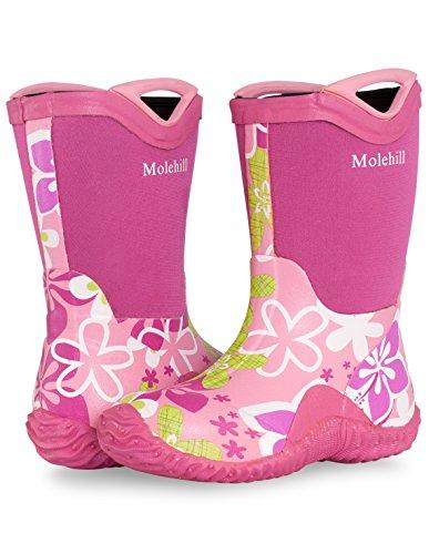 Molehill Kids Rain Boot - Toddler/Little Kid/Big Kid (NEW w/ minor blemishes that DON'T affect quality)