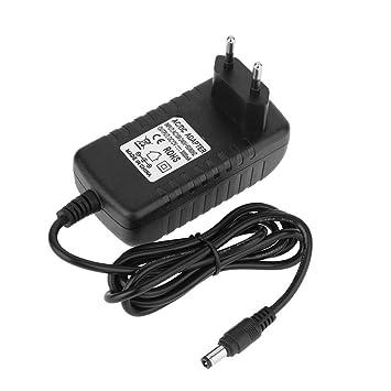 Matefielduk LED Adaptador de Corriente EU Plug 110V 220V a ...