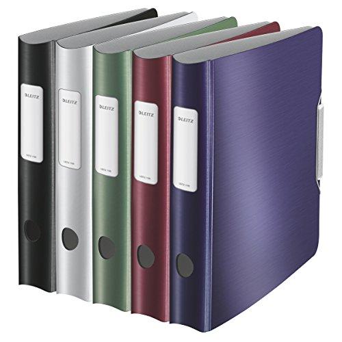 Leitz 939048 - Archivador A4 lomo, 65 mm, colores surtidos, 1 unidad: Amazon.es: Oficina y papelería