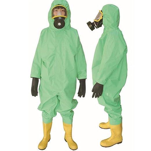 AF ES Ropa de protección química con ácido de Capucha, álcali ...