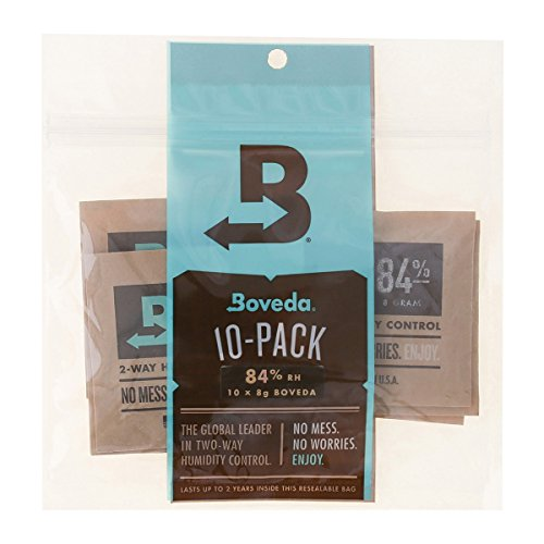 Boveda 84-Percent RH 2-way Humidity Control, 8 gram - 10 Pack by Boveda