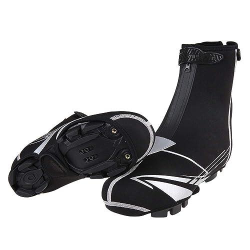 Bicicleta Cubiertas Ajustable De Zapatos Cubre Reflectantes qFwYZp8