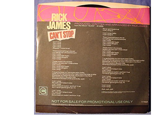 Buy rick james lp promo