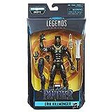 Marvel Legends Figura de Acción Black Panther, Erik Killmonger, 6 Pulgadas