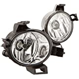 Winjet WJ30-0182-09 Clear Lens Fog Light Kit (Nissan Altima/Quest Wiring Kit Included)