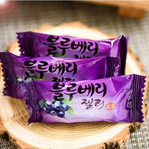 Blueberry jelly 250g Korean Sweet fruit jelly containing natural juice as ripe nature