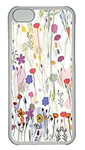 Personalized iPhone 5c Cases - Unique Cool Design A Variety Of Beautiful Flowers