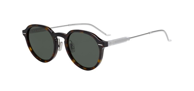 5f140692c5d New Christian Dior Homme MOTION 2 086 QT Dark Havana Sunglasses   Amazon.co.uk  Clothing