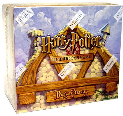 (Harry Potter Card Game Diagon Alley Booster Box)