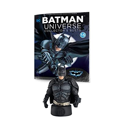 Eaglemoss DC Batman Universe Collector's Busts: #13 The Dark Knight (Christian Bale) Batman Collector's Bust: Toys & Games