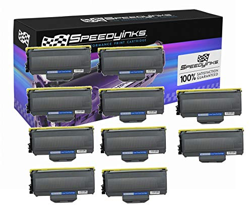 Speedy Inks - 10pk Compatible Brother TN360 TN-360 Black Toner ()