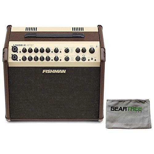 Fishman PRO-LBX-600 Loudbox Artist Acoustic Guitar Amp w/Polish Cloth and (Loudbox 100 Acoustic Amplifier)