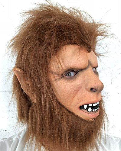 Rubber Johnnies Teen Wolf Man Mask, Adult, One Size,Werewolf]()