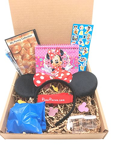 Disney VACATION Set with Essential Park Accessories & Official Autograph Book -