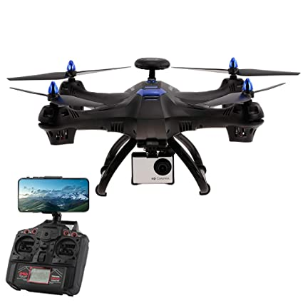 Koeoep X183S WiFi FPV Drone with 1080P HD Camera Live Video RC ...