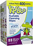 Pampers Kandoo Flushable Wipes Sensitive 400 ct 8 pk