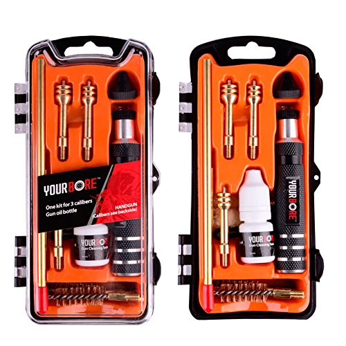SHAREWIN Pistol Cleaning Kit 9mm Airsoft Handgun Cleaning Kits