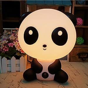 Lovely Cartoon Animal KungFu Panda LED Nightlight for Kids Baby Adults Sleeping Bedroom Lamp with Soft Romantic Light Ray