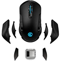GameSir GM300 Wireless Gaming Mouse, Rechargeable USB Computer Mouse with Breathing Backlit, (400-16000)5 Adjustable DPI…