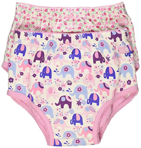 JoJo Maman Bebe 2 Piece Training Knickers, Pink, Large