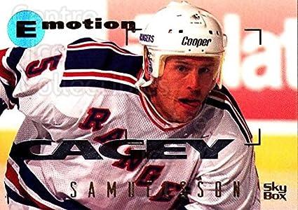 Amazon.com  (CI) Ulf Samuelsson Hockey Card 1995-96 Emotion (base ... 957c9eb8b