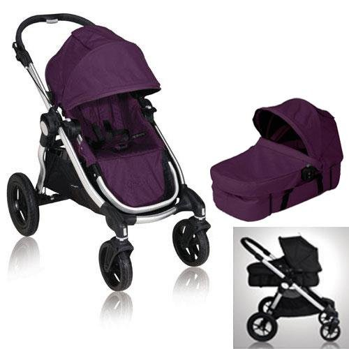 Amazon.com : Baby Jogger 81268 City Select Stroller with Bassinet ...