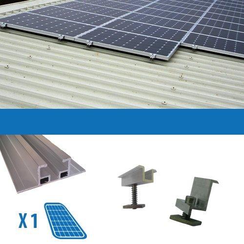 Kit Kit für 1Solarmodul Photovoltaik-250W Flachdach