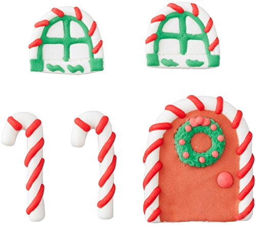 Wilton 710-5813 Door and Window Gingerbread House Decorating Candy