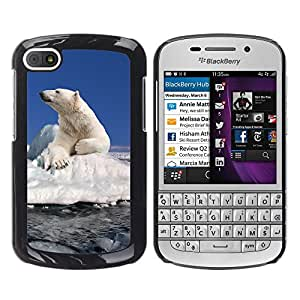 Print Motif Coque de protection Case Cover // V00002188 Oso polar // BlackBerry Q10
