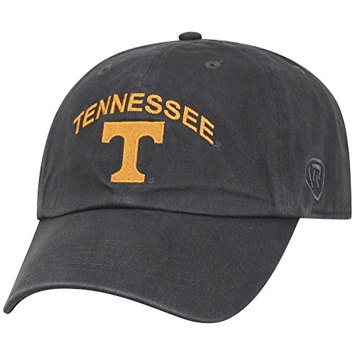 Top of the World Tennessee Volunteers Men's Hat Arch, Charcoal, Adjustable -