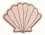 Nipitshop Patches Pink Shellfish in The sea Shell