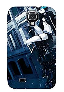 Catenaryoi Design High Quality Black Rock Shooter Cover Case With Ellent Style For Galaxy S4(nice Gift For Christmas)
