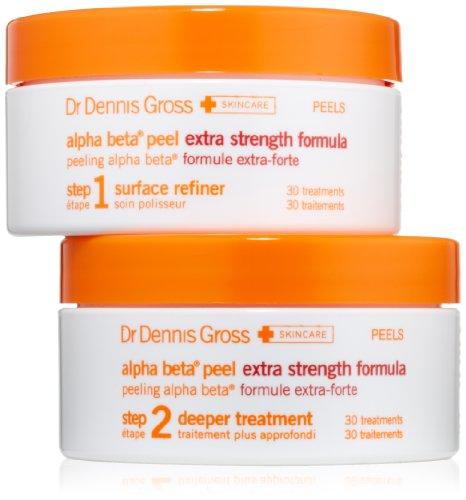 Dr. Dennis Gross Skincare Alpha Beta Daily Face Peel, Extra Strength 30 treatments