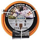 Dramm 17002 ColorStorm Premium 50-Foot-by-5/8-Inch Rubber Garden Hose, Orange