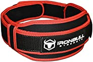 Weight Lifting Belt - High Performance Neoprene Back Support - Light Weight & Heavy Duty Core Sup