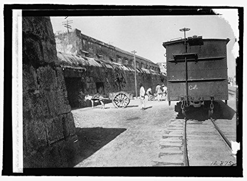 Vintography 8 x 10 Reprinted Old Photo Colombia, Cartagina, Ancient Wall Built Phillip II Spain 1915 National Photo Co 25a by Vintography