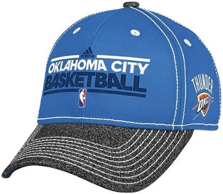 new style e5459 c85a9 Amazon.com   Adidas Oklahoma City Thunder Authentic Adjustable Cap - Light  Blue Charcoal   Sports Fan Baseball Caps   Sports   Outdoors