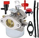 640052 Carburetor for Tecumseh HMSK80 HMSK90 8hp 9hp 10hp LH318SA LH358SA for Snow Blower Generator Chipper Shredder 640054 640349 640058 640058A Oregon 50-659 STENS 520-926 Carb (640054)