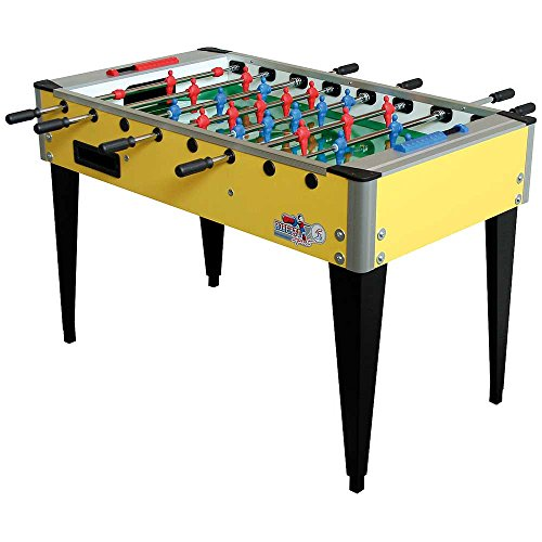 Roberto Sport College International Yellow Foosball Table by Roberto Sport