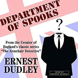 Department of Spooks: Stories of Suspense and Mystery Audiobook