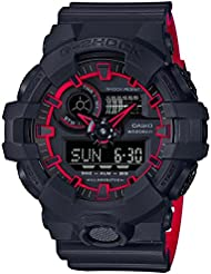 Casio GA700SE-1A4 Black 53.4mm Resin G-Shock GA-700 Mens Watch